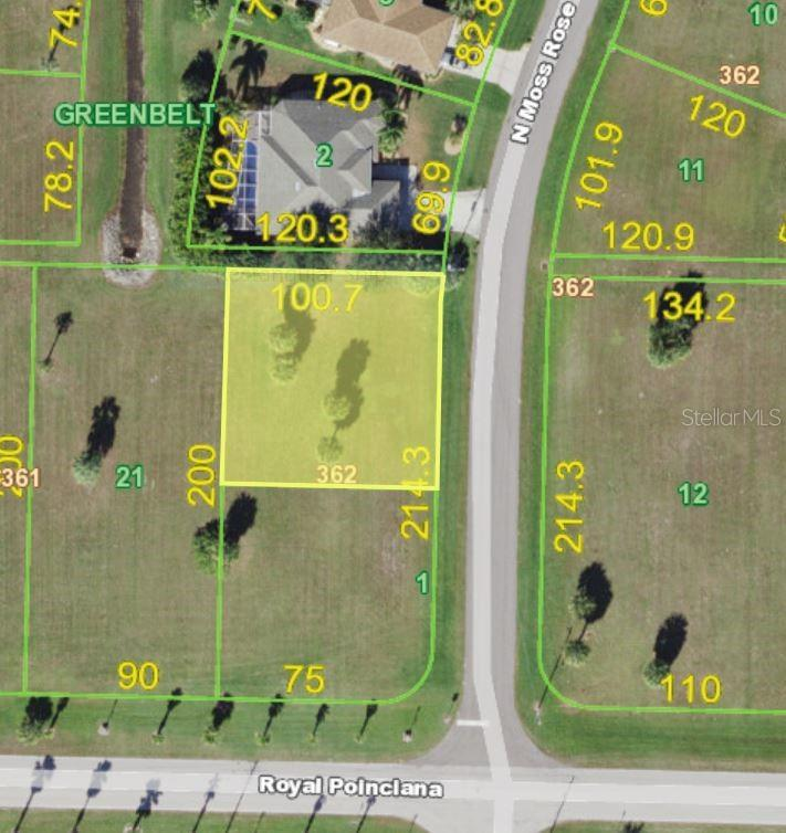 Vacant Land for sale at 7363 N Moss Rose, Punta Gorda, FL 33955 - MLS Number is C7408259