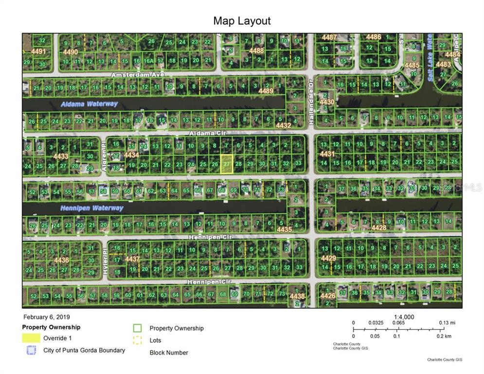 Vacant Land for sale at 15513 Aldama Cir, Port Charlotte, FL 33981 - MLS Number is C7411412