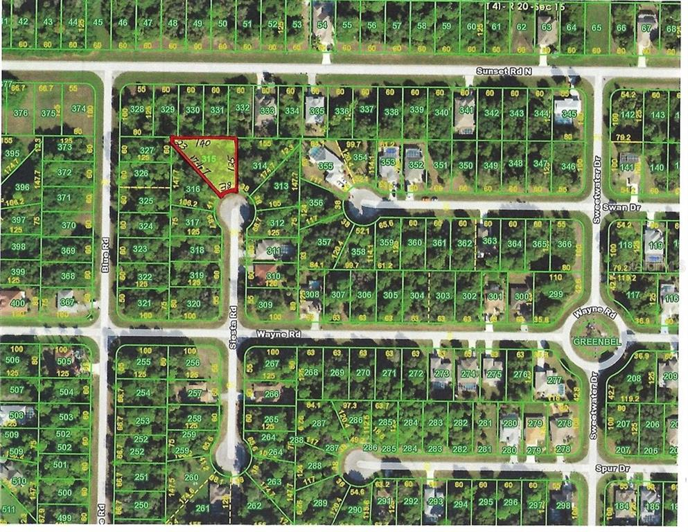 Vacant Land for sale at 122 Siesta Rd, Rotonda West, FL 33947 - MLS Number is C7412096