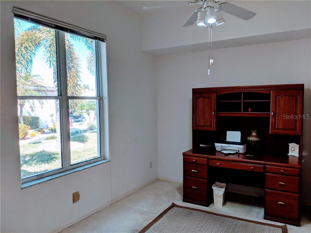 OFFICE SPACE TO LEFT OF ENTRY ( COULD BE USED AS THE 3D BR, NO CLOSET) - Single Family Home for sale at 26442 Feathersound Dr, Punta Gorda, FL 33955 - MLS Number is C7412660
