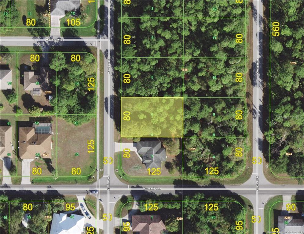 Vacant Land for sale at 1518 Abalom St, Port Charlotte, FL 33980 - MLS Number is C7417071