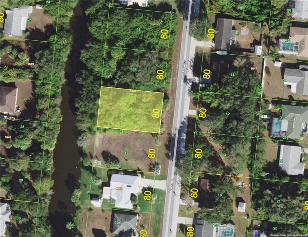 Vacant Land for sale at 1483 Beacon Dr, Port Charlotte, FL 33952 - MLS Number is C7420975