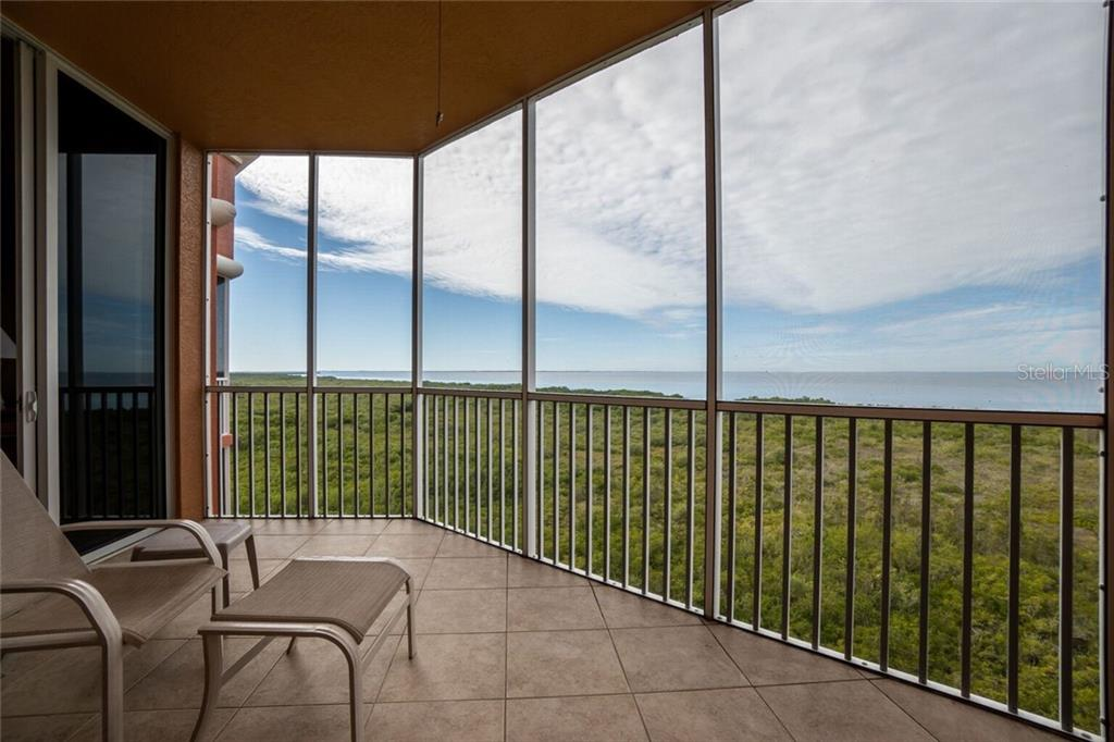 Balcony - Condo for sale at 3191 Matecumbe Key Rd #705, Punta Gorda, FL 33955 - MLS Number is C7423322