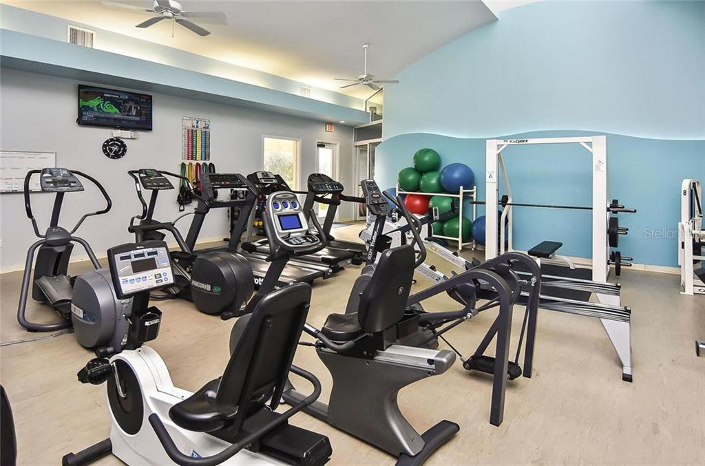 Fitness room - Condo for sale at 3191 Matecumbe Key Rd #705, Punta Gorda, FL 33955 - MLS Number is C7423322