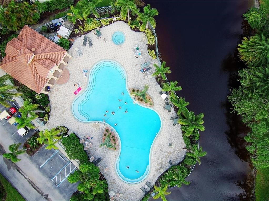 Community pool & spa - Condo for sale at 3191 Matecumbe Key Rd #705, Punta Gorda, FL 33955 - MLS Number is C7423322