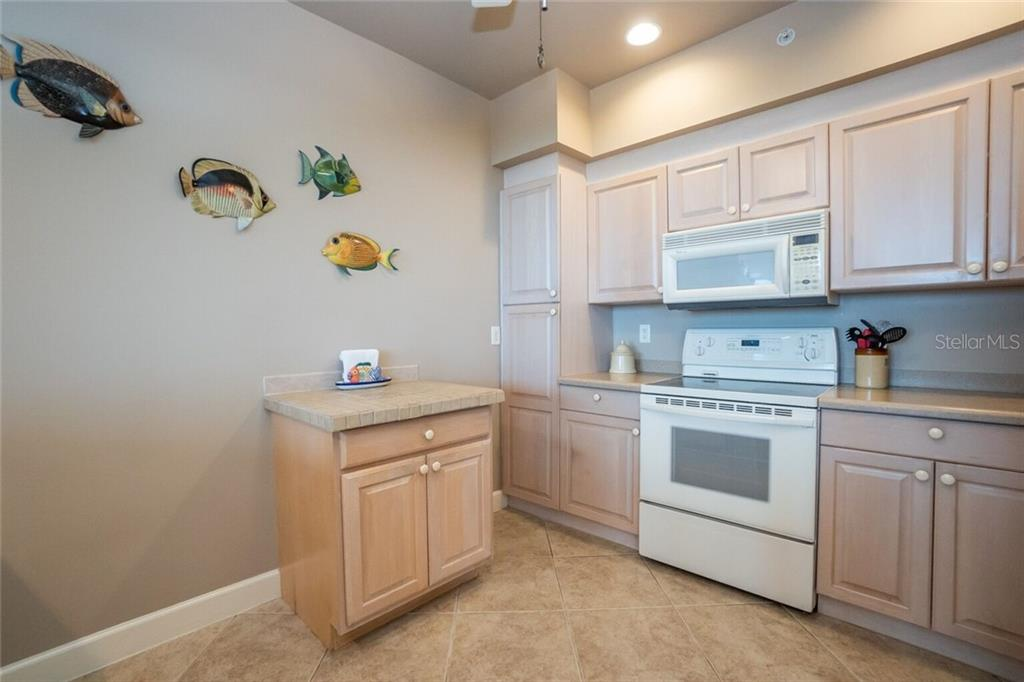 Kitchen - Condo for sale at 3191 Matecumbe Key Rd #705, Punta Gorda, FL 33955 - MLS Number is C7423322