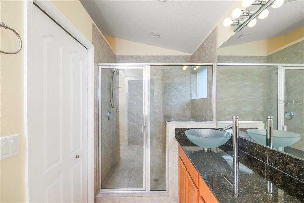 Master bathroom - Single Family Home for sale at 1556 Scarlett Ave, North Port, FL 34289 - MLS Number is C7433452
