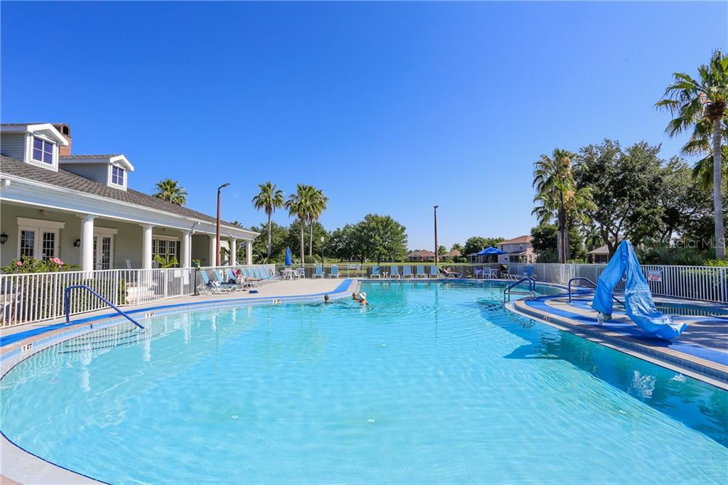 Community pool - Single Family Home for sale at 1556 Scarlett Ave, North Port, FL 34289 - MLS Number is C7433452