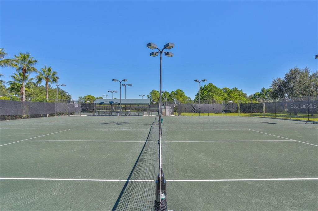 Community tennis courts - Single Family Home for sale at 1556 Scarlett Ave, North Port, FL 34289 - MLS Number is C7433452