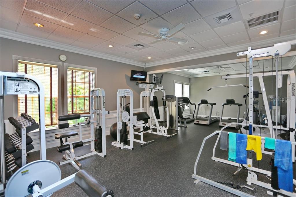 Community fitness center - Single Family Home for sale at 1556 Scarlett Ave, North Port, FL 34289 - MLS Number is C7433452