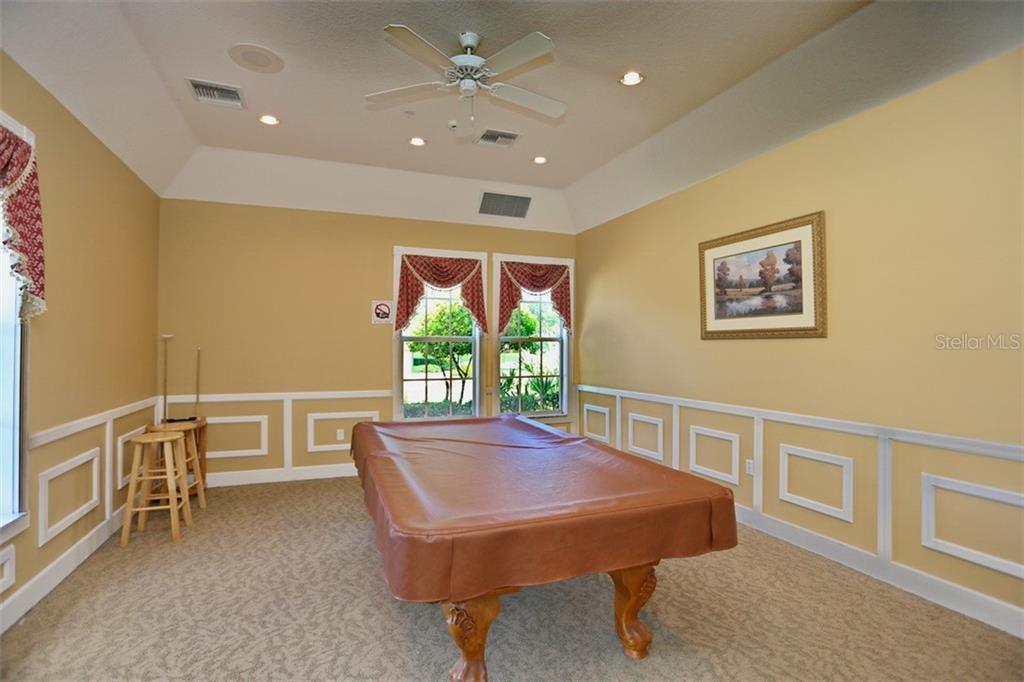 Community billiard room - Single Family Home for sale at 1556 Scarlett Ave, North Port, FL 34289 - MLS Number is C7433452