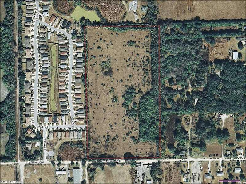 Vacant Land for sale at 3000 21st Street Ct E, Palmetto, FL 34221 - MLS Number is A3986424