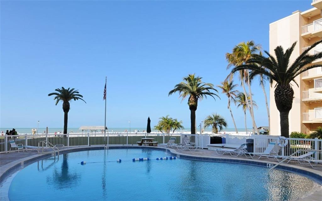 Swimming pool with beach views - Condo for sale at 5830 Midnight Pass Rd #504, Sarasota, FL 34242 - MLS Number is A4166623