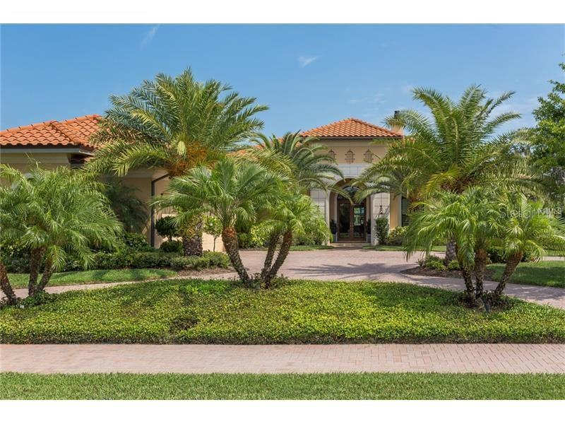 Single Family Home for Sale at 3367 Founders Club Dr Sarasota, Florida,34240 United States