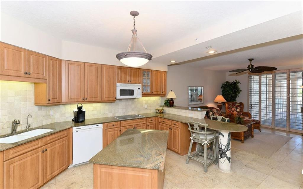 Kitchen - Condo for sale at 1260 Dolphin Bay Way #401, Sarasota, FL 34242 - MLS Number is A4173008