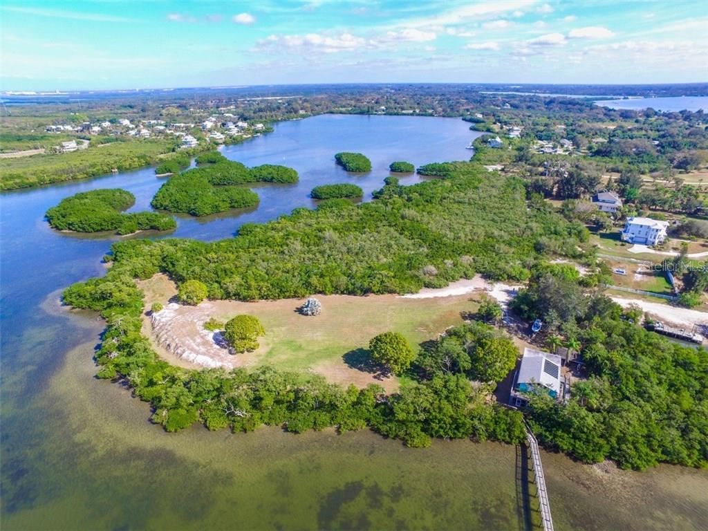 토지 / 대지 용 매매 에 41 Boots Point Rd 41 Boots Point Rd Terra Ceia, 플로리다,34250 미국