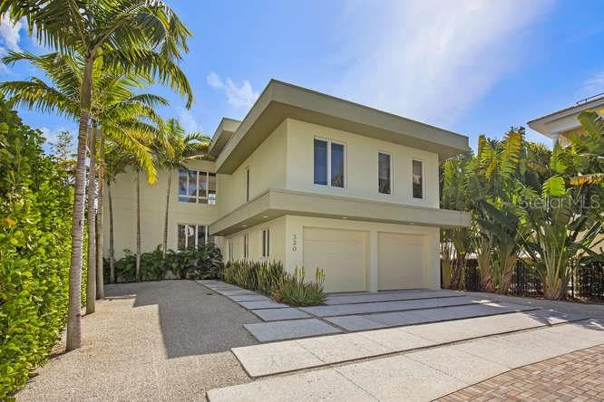 Maison unifamiliale pour l Vente à 320 Calle Miramar 320 Calle Miramar Sarasota, Florida,34242 États-Unis