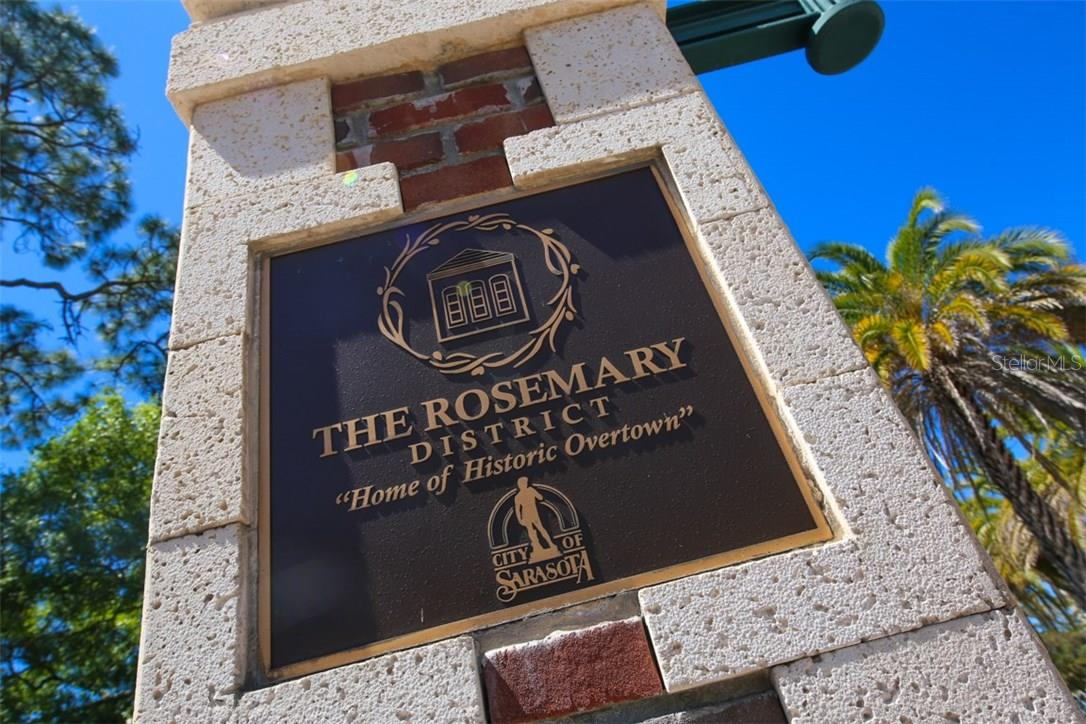 Welcome to the eclectic historic Rosemary District! - Condo for sale at 1552 4th St #106, Sarasota, FL 34236 - MLS Number is A4189081