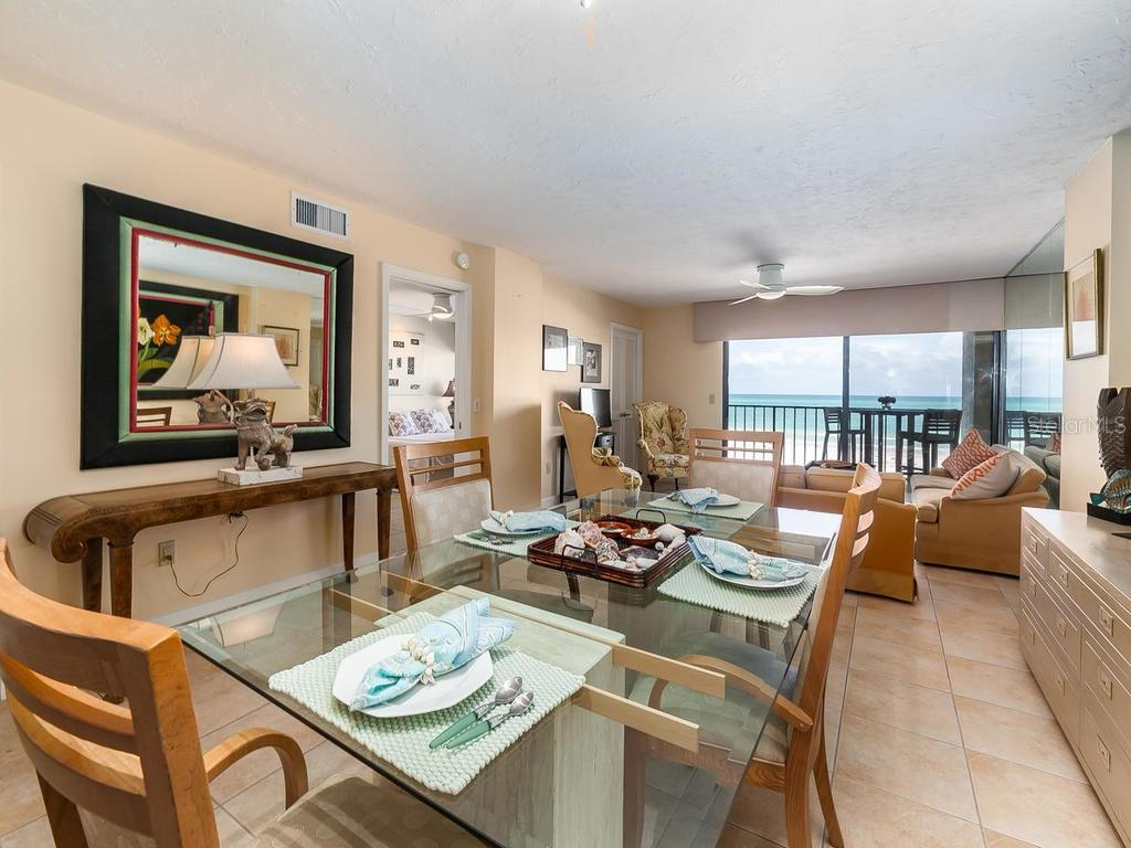 Or a more formal meal - your choice! - Condo for sale at 20 Whispering Sands Dr #301, Sarasota, FL 34242 - MLS Number is A4190302