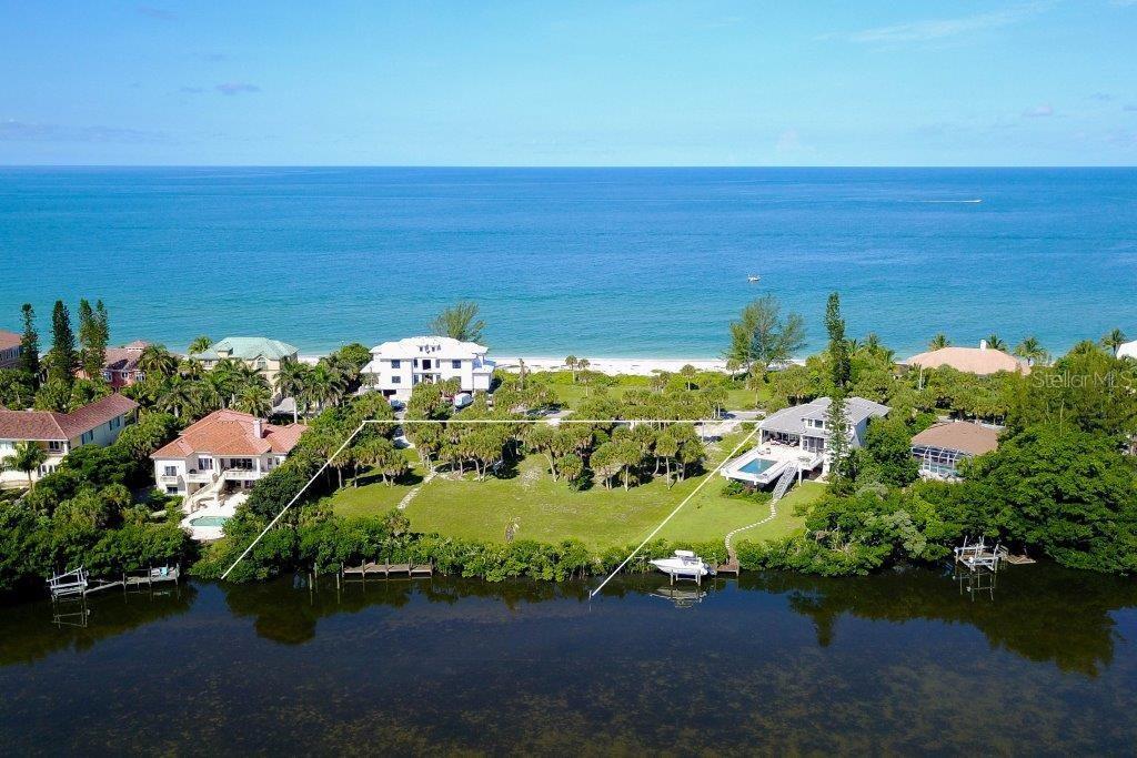 Terrain / Lots pour l Vente à 3000 Casey Key Rd 3000 Casey Key Rd Nokomis, Florida,34275 États-Unis