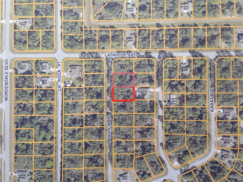 Laughlin Rd North Port FL  MLS A - Florida map north port
