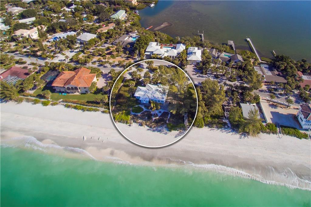 Tek Ailelik Ev için Satış at 3521 Casey Key Rd 3521 Casey Key Rd Nokomis, Florida,34275 Amerika Birleşik Devletleri