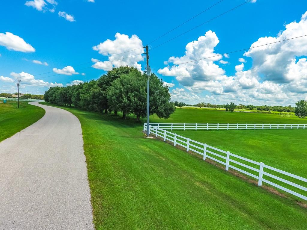 Paved Roads, White Fences and Mature trees - Vacant Land for sale at Address Withheld, Sarasota, FL 34240 - MLS Number is A4408612