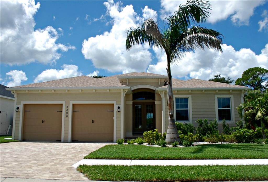 New Supplement - Single Family Home for sale at 5490 56th Ct, Bradenton, FL 34203 - MLS Number is A4411520