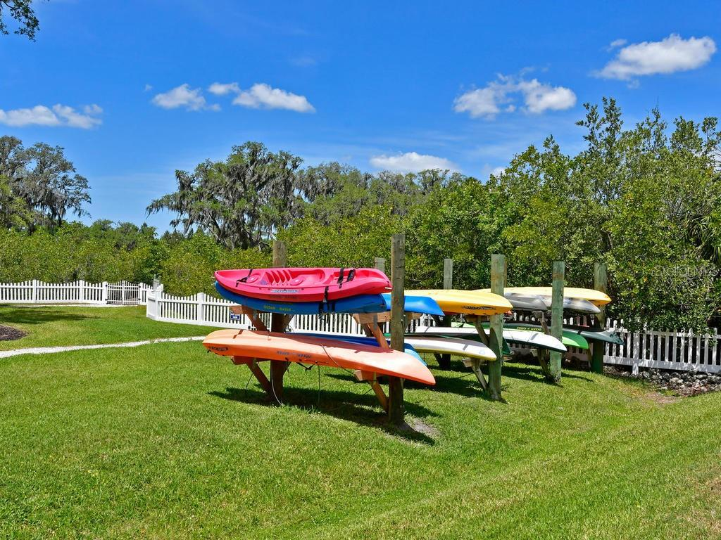 Community Canoe and Kayak Launch area. - Single Family Home for sale at 4742 Mainsail Dr, Bradenton, FL 34208 - MLS Number is A4415119