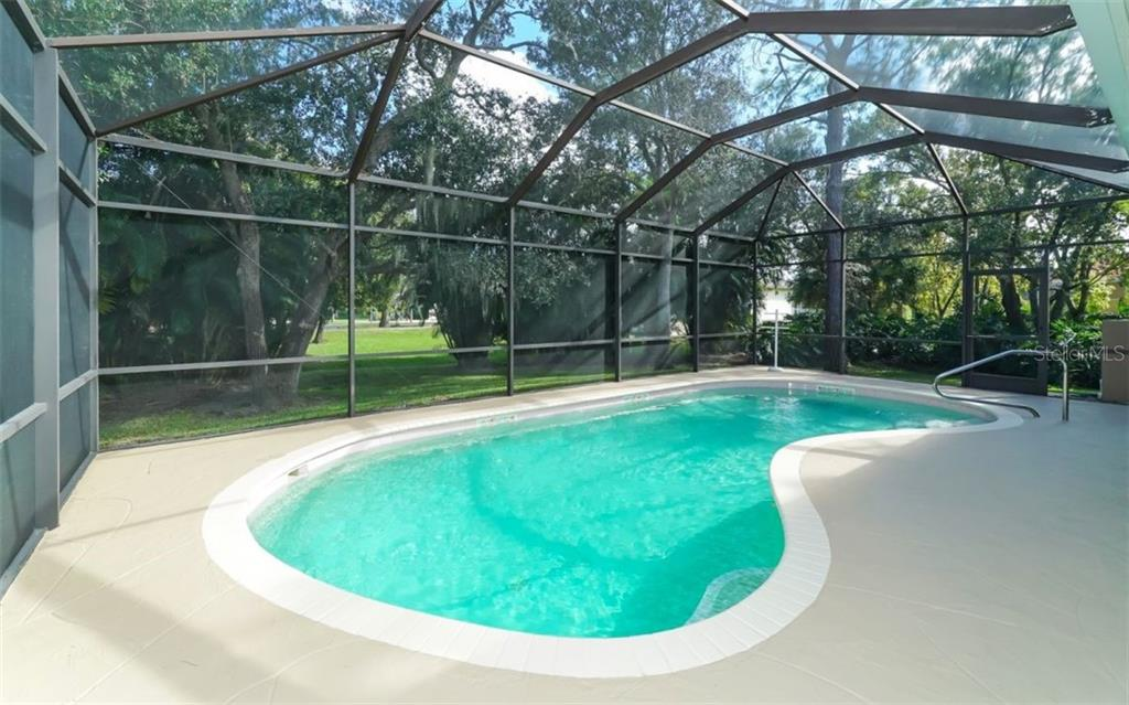 Beautiful pool & screen enclosure. - Single Family Home for sale at 6125 Varedo Ct, Sarasota, FL 34243 - MLS Number is A4420656