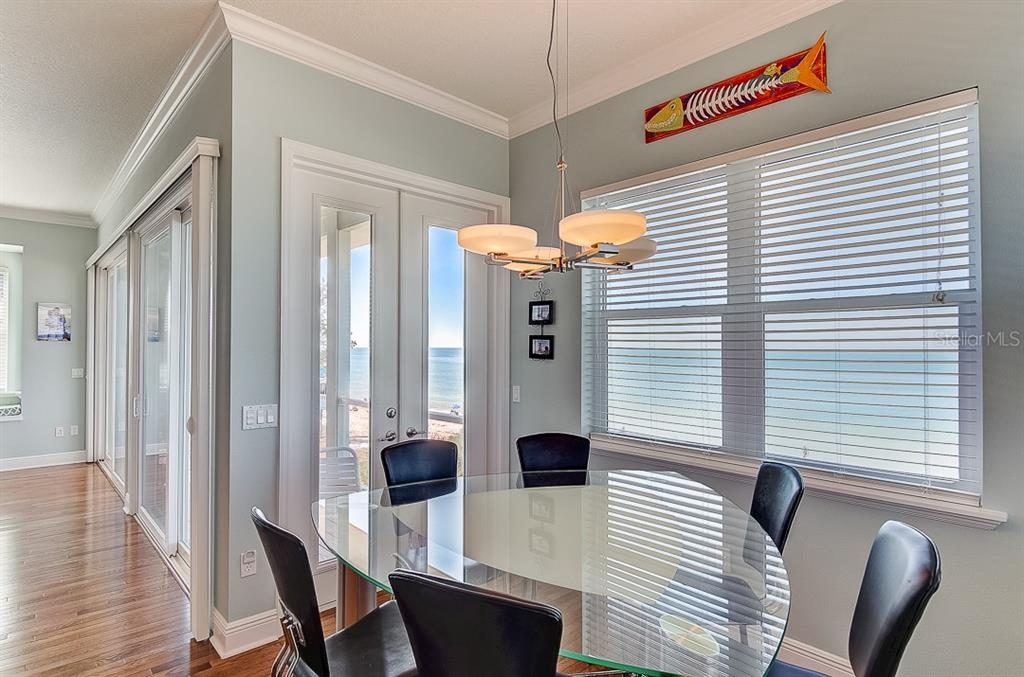 West Dining Area ~ 2nd Floor - Duplex/Triplex for sale at 2500 Gulf Dr N, Bradenton Beach, FL 34217 - MLS Number is A4424506