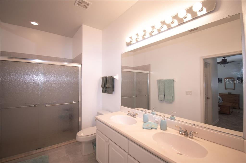 Master Bath - Villa for sale at 1808 Batello Dr, Venice, FL 34292 - MLS Number is A4426491