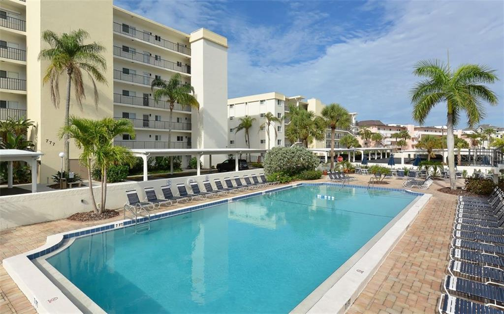 Relaxing Poolside. - Condo for sale at 797 Beach Rd #215, Sarasota, FL 34242 - MLS Number is A4430524
