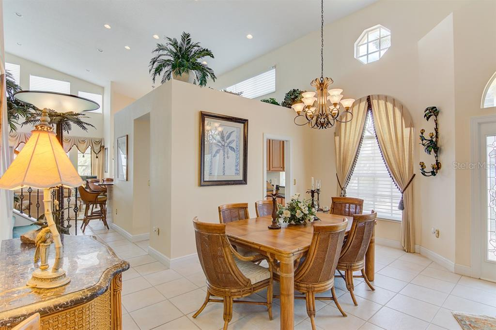 Dining Room - Single Family Home for sale at 811 Jungle Queen Way, Longboat Key, FL 34228 - MLS Number is A4438987