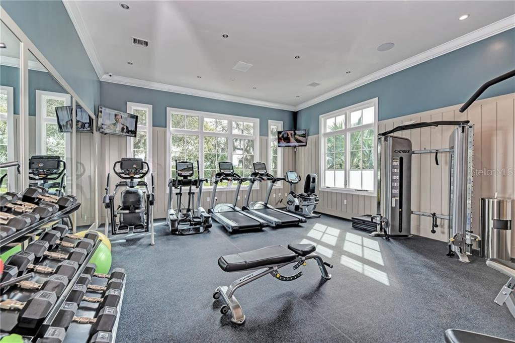 Exclusive Exercise Room for residents of