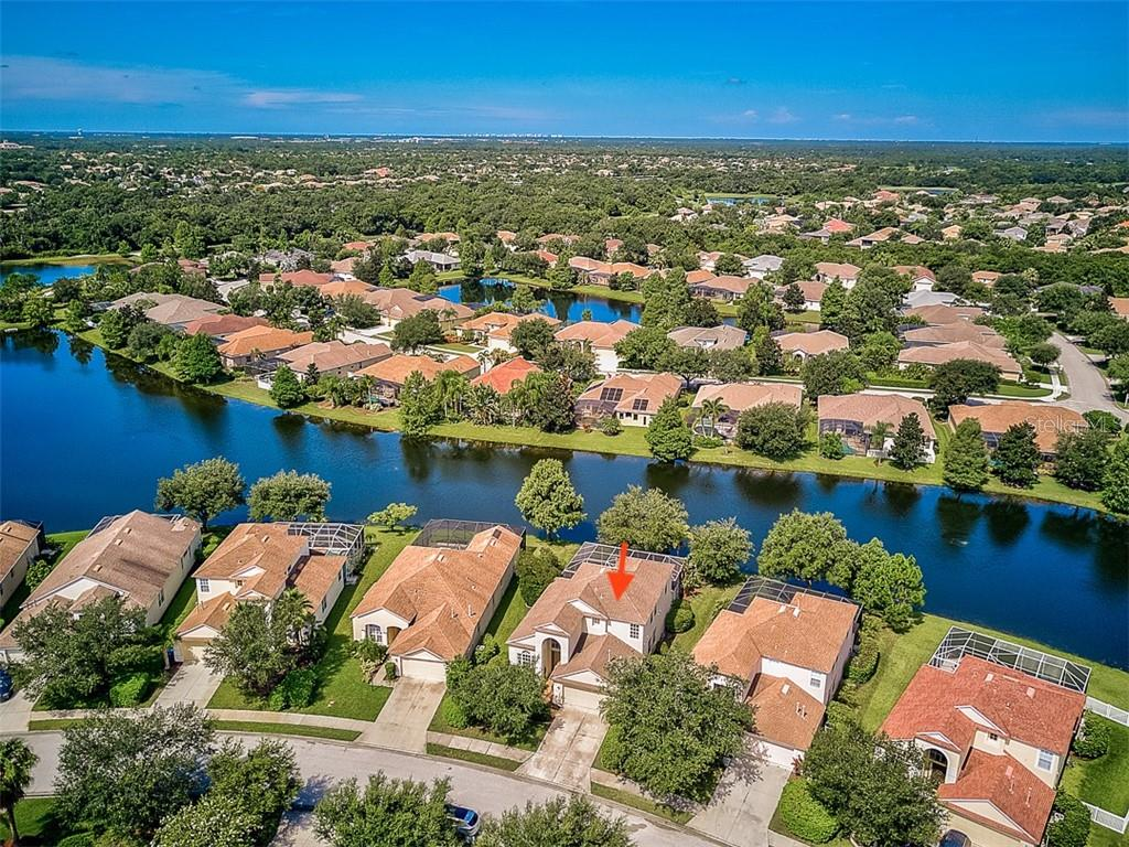 Aerial of Property - Single Family Home for sale at 6562 Field Sparrow Gln, Lakewood Ranch, FL 34202 - MLS Number is A4441603