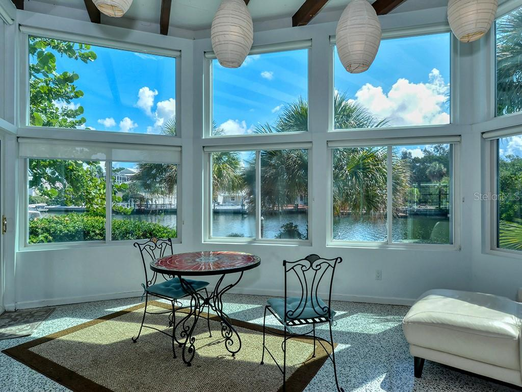 Florida Room - Floor to Ceiling Walls of Glass - Single Family Home for sale at 225 John Ringling Blvd, Sarasota, FL 34236 - MLS Number is A4443640