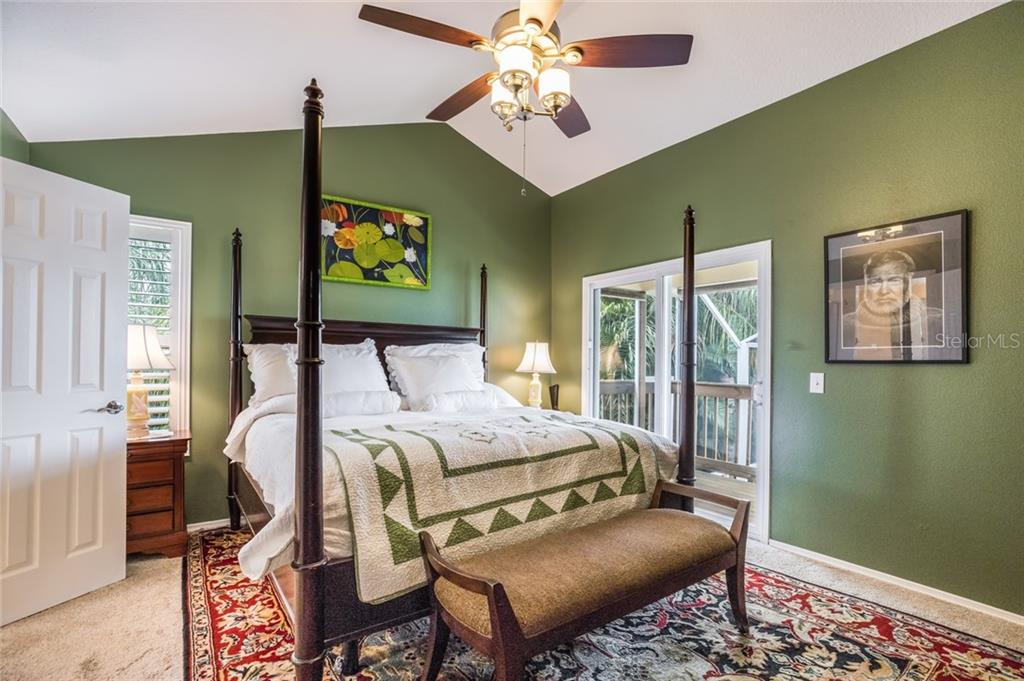 Master Bedroom - Single Family Home for sale at 128 41st Cir E, Bradenton, FL 34208 - MLS Number is A4443779