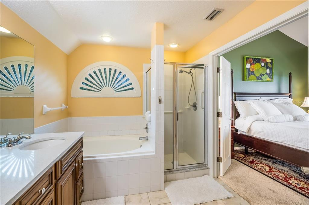 Master Bath - Single Family Home for sale at 128 41st Cir E, Bradenton, FL 34208 - MLS Number is A4443779