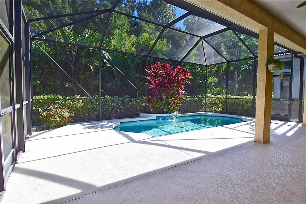 Pool and Entertainment Area - Single Family Home for sale at 13896 Siena Loop, Lakewood Ranch, FL 34202 - MLS Number is A4444006