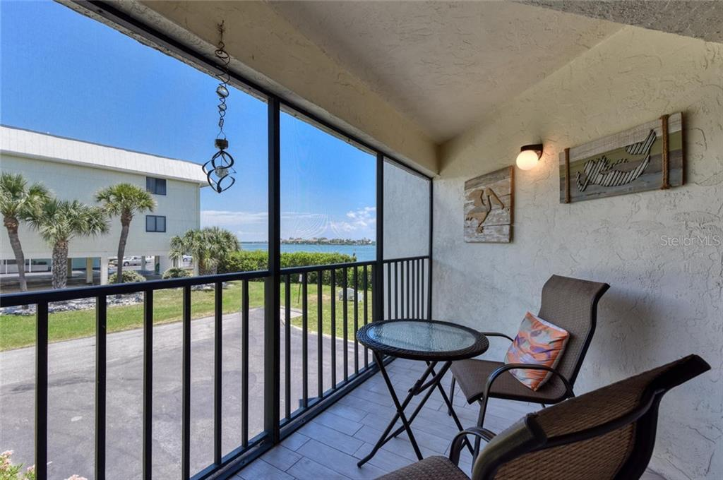 It's very private! - Condo for sale at 501 Gulf Dr N #305, Bradenton Beach, FL 34217 - MLS Number is A4445601