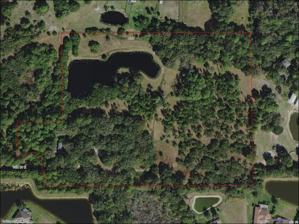 17 ACRE PARCEL - Vacant Land for sale at 15057 16th Dr E, Bradenton, FL 34212 - MLS Number is A4447341
