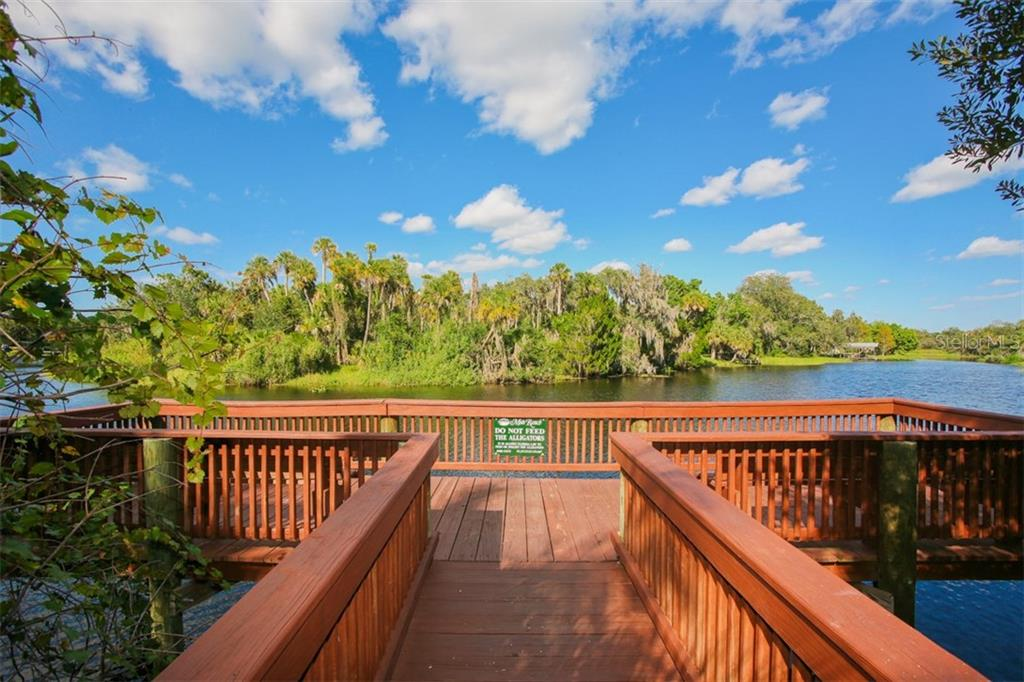 Community dock on the Braden River - Single Family Home for sale at 6226 Stillwater Ct, University Park, FL 34201 - MLS Number is A4447872