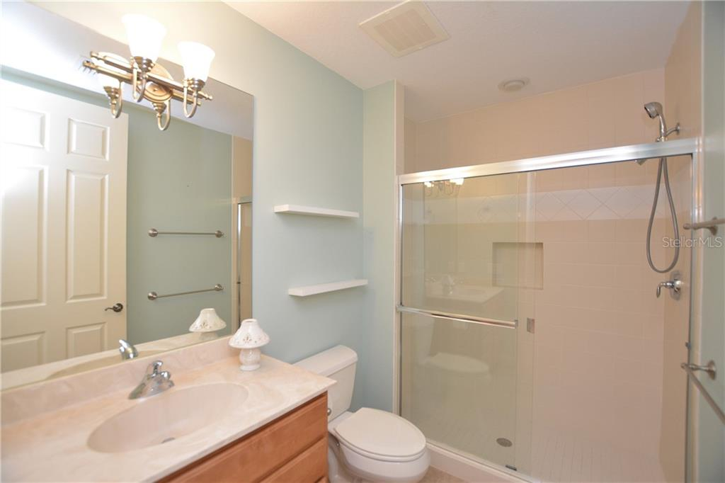 Full Guest Bathroom - Condo for sale at 5304 Manorwood Dr #2b, Sarasota, FL 34235 - MLS Number is A4448585