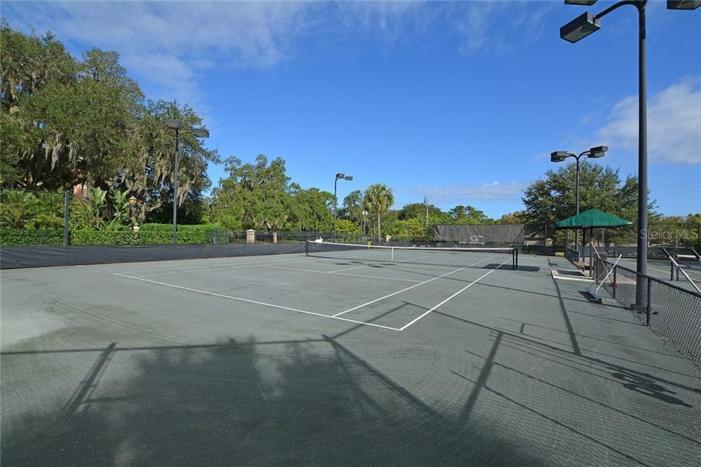 Community Lighted Tennis Courts - Condo for sale at 5304 Manorwood Dr #2b, Sarasota, FL 34235 - MLS Number is A4448585