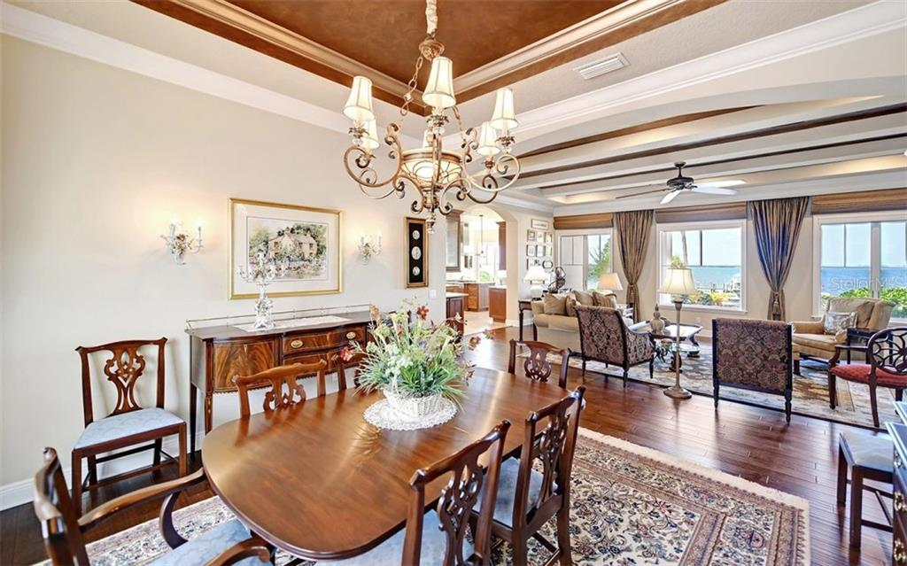 Dining room - Single Family Home for sale at 7903 Longbay Blvd, Sarasota, FL 34243 - MLS Number is A4449717