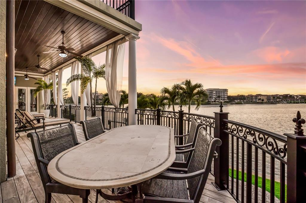 Bring the party outdoors and savor the beauty of the magnificent sunset. - Single Family Home for sale at 6438 Hollywood Blvd, Sarasota, FL 34231 - MLS Number is A4449895