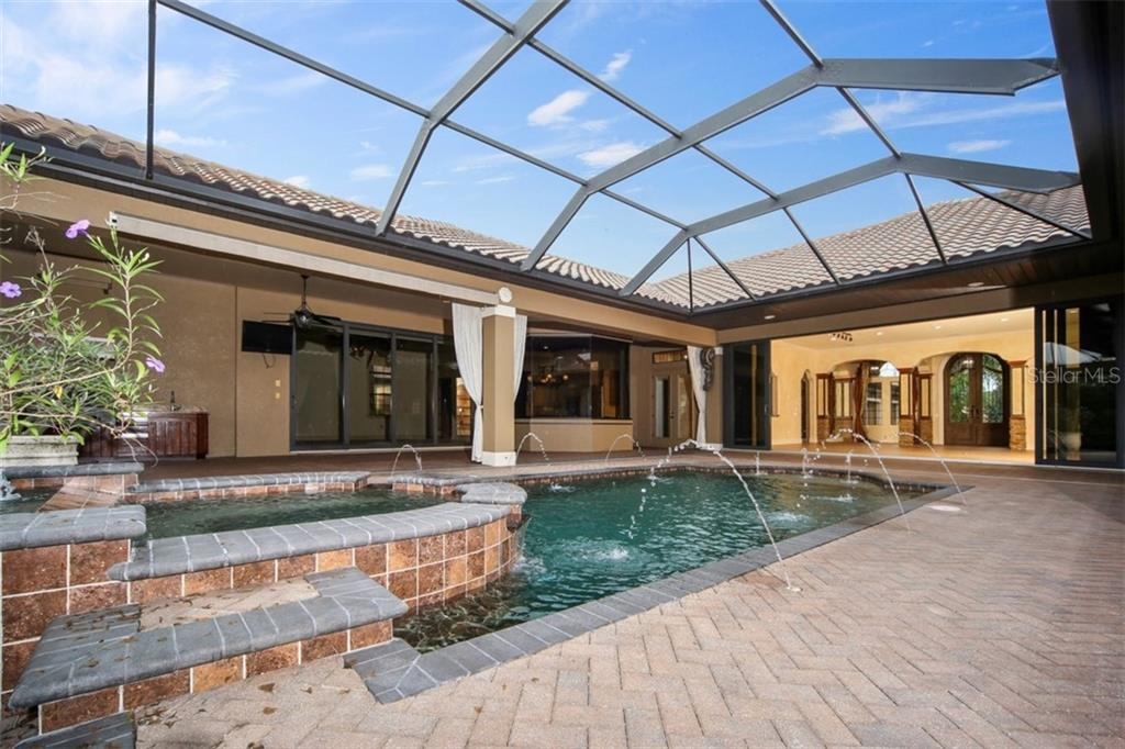 Water feature - Single Family Home for sale at 15212 Linn Park Ter, Lakewood Ranch, FL 34202 - MLS Number is A4450793