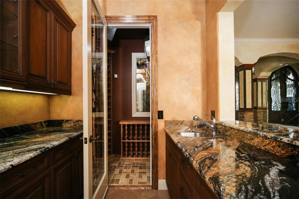 Wine storage - Single Family Home for sale at 15212 Linn Park Ter, Lakewood Ranch, FL 34202 - MLS Number is A4450793