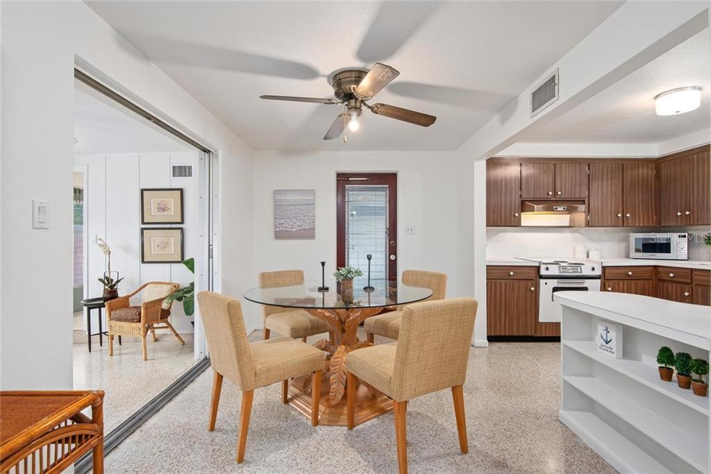 The kitchen could use some updates but is a nice size and fully operational. This price point does reflect the need for some of your personal touches. - Single Family Home for sale at 691 Tarawitt Dr, Longboat Key, FL 34228 - MLS Number is A4451584